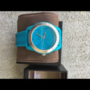 Michael Kors Women's Preston Turquoise Watch